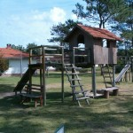 Juegos de madera en Jaureguiberry