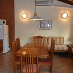 Living comedor en bungalows de Jaureguibeery