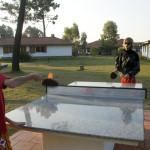 Ping pong en bungalows de Pueblo Suizo