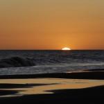 Pueblo Suizo al caer el sol